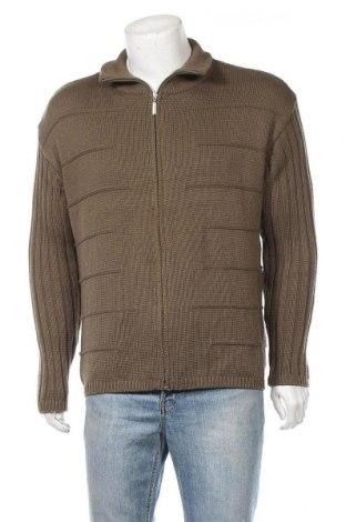 Мъжка жилетка Michele Boyard, Размер M, Цвят Зелен, 50% памук, 50% полиакрил, Цена 13,23лв.