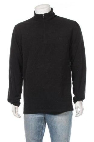 Мъжка поларена блуза Chaps, Размер L, Цвят Черен, Цена 10,02лв.
