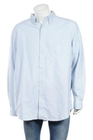 Мъжка риза Chaps, Размер XL, Цвят Син, Памук, Цена 7,56лв.