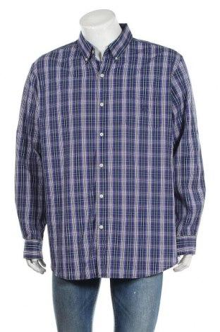 Мъжка риза Chaps, Размер XXL, Цвят Многоцветен, 68% памук, 28% полиестер, 4% еластан, Цена 10,71лв.