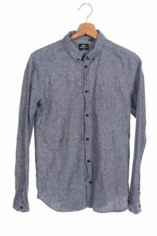 Мъжка риза Dr. Denim, Размер M, Цвят Син, 55% памук, 45% лен, Цена 14,18лв.