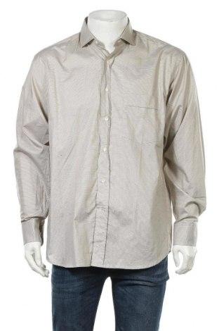 Ανδρικό πουκάμισο Otto Kern, Μέγεθος L, Χρώμα  Μπέζ, Βαμβάκι, Τιμή 5,68€