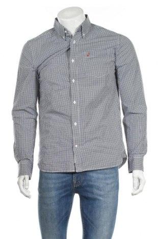 Мъжка риза Peak Performance, Размер M, Цвят Син, Памук, Цена 28,50лв.