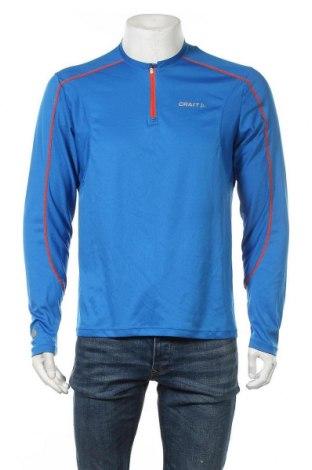 Мъжка спортна блуза Craft, Размер L, Цвят Син, Полиестер, Цена 12,29лв.