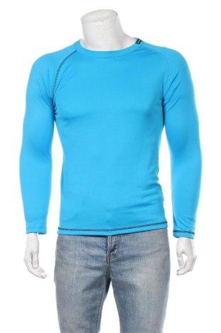 Мъжка спортна блуза Oxylane, Размер L, Цвят Син, Полиестер, Цена 13,97лв.