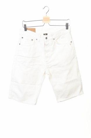 Мъжки къс панталон Dondup, Размер S, Цвят Бял, Памук, Цена 13,94лв.