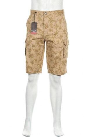 Мъжки къс панталон Pierre Cardin, Размер L, Цвят Кафяв, 100% памук, Цена 59,25лв.