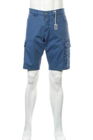 Ανδρικό κοντό παντελόνι Timezone, Μέγεθος L, Χρώμα Μπλέ, 98% βαμβάκι, 2% ελαστάνη, Τιμή 16,12€