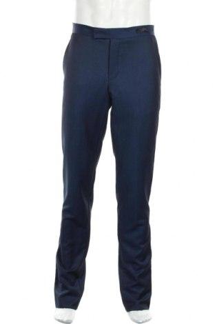Ανδρικό παντελόνι Ted Baker, Μέγεθος M, Χρώμα Μπλέ, 84% μαλλί, 16% μοχαίρ, Τιμή 31,37€