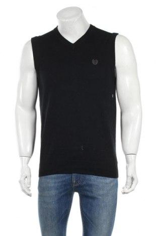 Мъжки пуловер Chaps, Размер S, Цвят Черен, Памук, Цена 10,38лв.