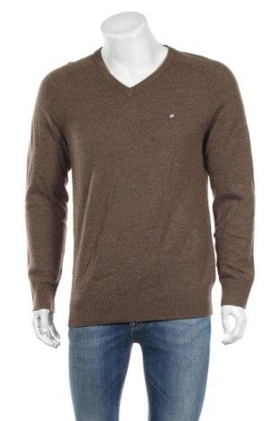 Мъжки пуловер Peak Performance, Размер L, Цвят Кафяв, Вълна, Цена 17,61лв.