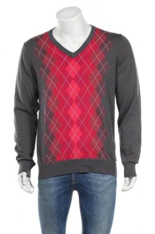 Мъжки пуловер Peak Performance, Размер L, Цвят Сив, Памук, Цена 21,67лв.