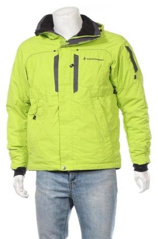 Мъжко яке за зимни спортове Peak Performance, Размер S, Цвят Зелен, Полиамид, Цена 58,46лв.