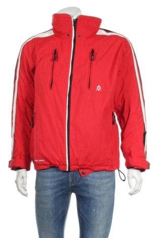 Мъжко яке за зимни спортове VOLKL, Размер M, Цвят Червен, Полиамид, Цена 73,92лв.