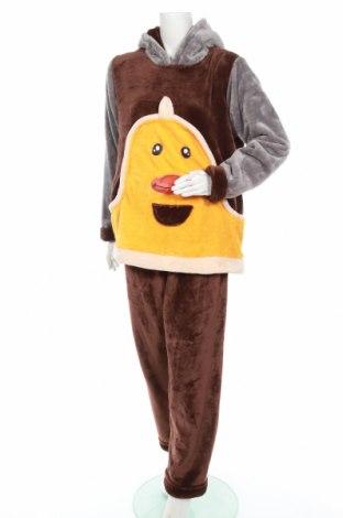 Пижама, Размер XL, Цвят Кафяв, Цена 33,60лв.
