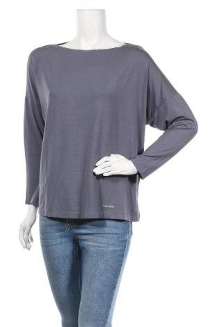 Пижама Calvin Klein, Размер S, Цвят Син, 94% модал, 6% еластан, Цена 56,55лв.