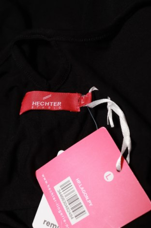Пижама Hechter, Размер L, Цвят Черен, 5% вискоза, 5% еластан, Цена 45,56лв.