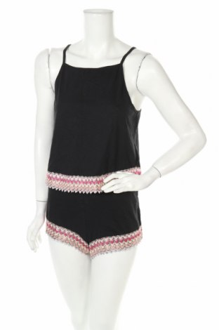 Пижама Twintip, Размер M, Цвят Черен, Памук, Цена 27,30лв.