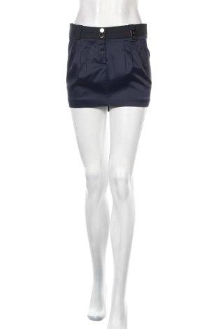 Φούστα Elisabetta Franchi, Μέγεθος M, Χρώμα Μπλέ, 65% ασετάτ, 31% πολυαμίδη, 4% ελαστάνη, Τιμή 25,57€