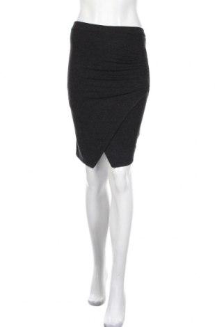 Φούστα Just Female, Μέγεθος XS, Χρώμα Γκρί, 75% βισκόζη, 20%ακρυλικό, 5% ελαστάνη, Τιμή 8,41€