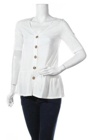 Риза за бременни Mamalicious, Размер S, Цвят Бял, 50% памук, 50% полиестер, Цена 26,68лв.
