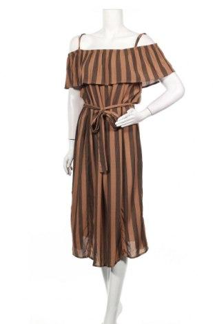 Φόρεμα Ichi, Μέγεθος M, Χρώμα Καφέ, Βισκόζη, Τιμή 11,74€