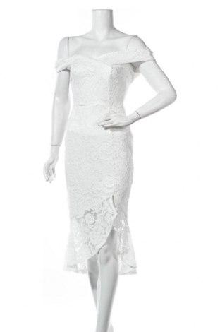 Φόρεμα Lipsy London, Μέγεθος S, Χρώμα Λευκό, Πολυεστέρας, Τιμή 26,80€