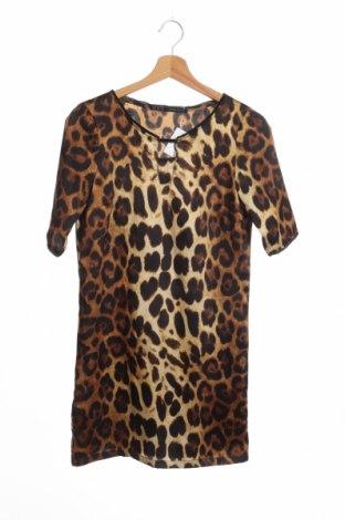 Рокля Zara, Размер XS, Цвят Кафяв, Цена 20,02лв.