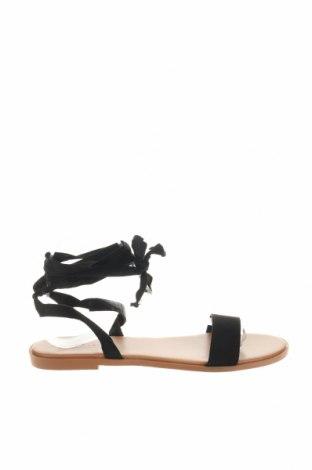 Σανδάλια ASOS, Μέγεθος 38, Χρώμα Μαύρο, Κλωστοϋφαντουργικά προϊόντα, Τιμή 14,84€