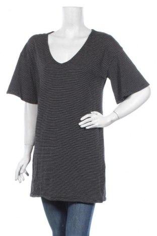 Туника H&M, Размер S, Цвят Черен, 94% памук, 4% полиестер, 2% метални нишки, Цена 10,87лв.
