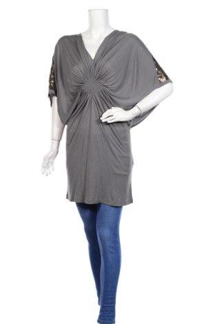 Τουνίκ Munthe Plus Simonsen, Μέγεθος L, Χρώμα Γκρί, 100% μοντάλ, Τιμή 26,85€