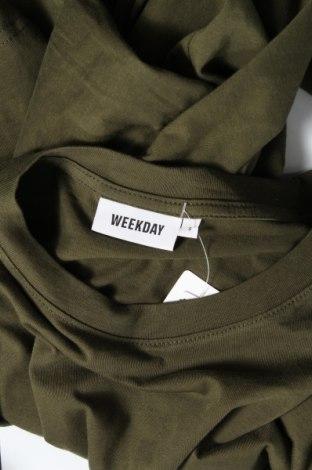 Туника Weekday, Размер S, Цвят Зелен, Памук, Цена 25,20лв.