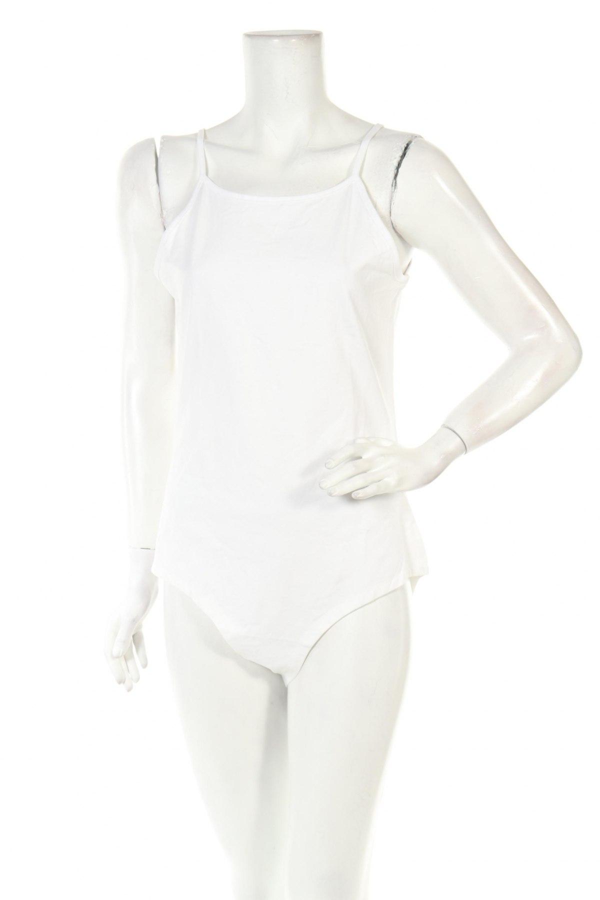Боди Even&Odd, Размер XL, Цвят Бял, 95% памук, 5% еластан, Цена 19,43лв.