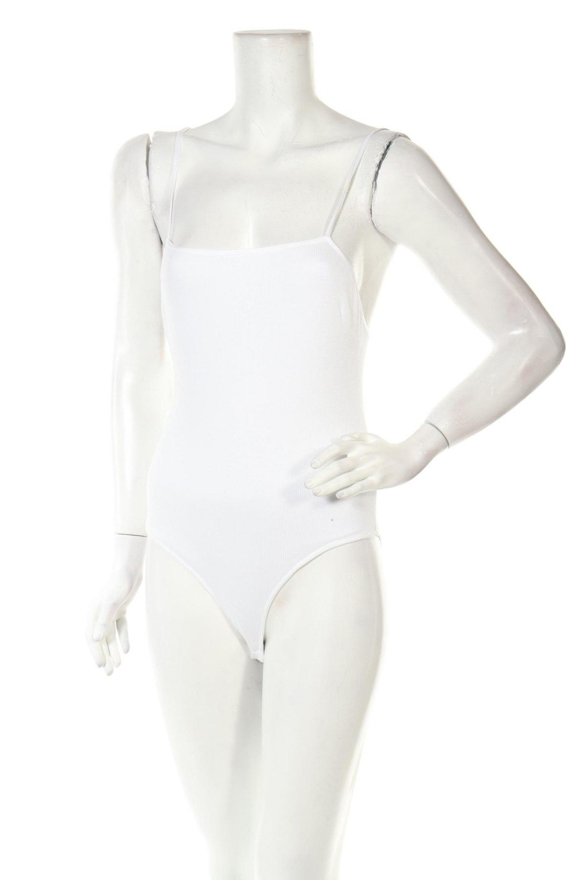 Боди Oysho, Размер S, Цвят Бял, 100% памук, Цена 27,00лв.