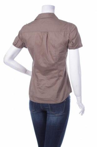 Γυναικείο πουκάμισο Esprit, Μέγεθος XS, Χρώμα Καφέ, Βαμβάκι, Τιμή 9,28€