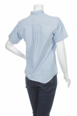Γυναικείο πουκάμισο, Μέγεθος XS, Χρώμα Μπλέ, 60% βαμβάκι, 40% πολυεστέρας, Τιμή 9,90€