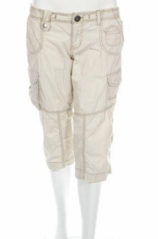 Γυναικείο παντελόνι Mossimo, Μέγεθος M, Χρώμα Εκρού, Βαμβάκι, Τιμή 3,47€