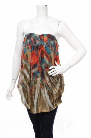Γυναικείο αμάνικο μπλουζάκι Poetry, Μέγεθος M, Χρώμα Πολύχρωμο, Πολυεστέρας, Τιμή 7,42€