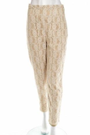 Γυναικείο παντελόνι Apart, Μέγεθος M, Χρώμα  Μπέζ, 60% βισκόζη, 40% πολυαμίδη, Τιμή 6,63€