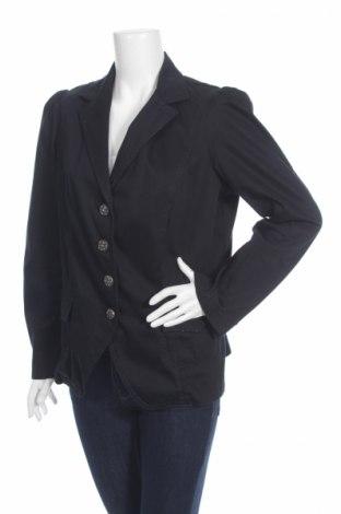 Дамско сако Elena Miro, Размер L, Цвят Черен, 97% памук, 3% еластан, Цена 6,40лв.