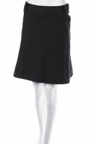Пола H&M, Размер S, Цвят Черен, 65% полиестер, 35% вискоза, Цена 5,60лв.