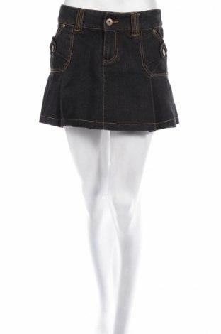 Пола Vero Moda, Размер S, Цвят Син, 72% памук, 28% полиестер, Цена 6,24лв.