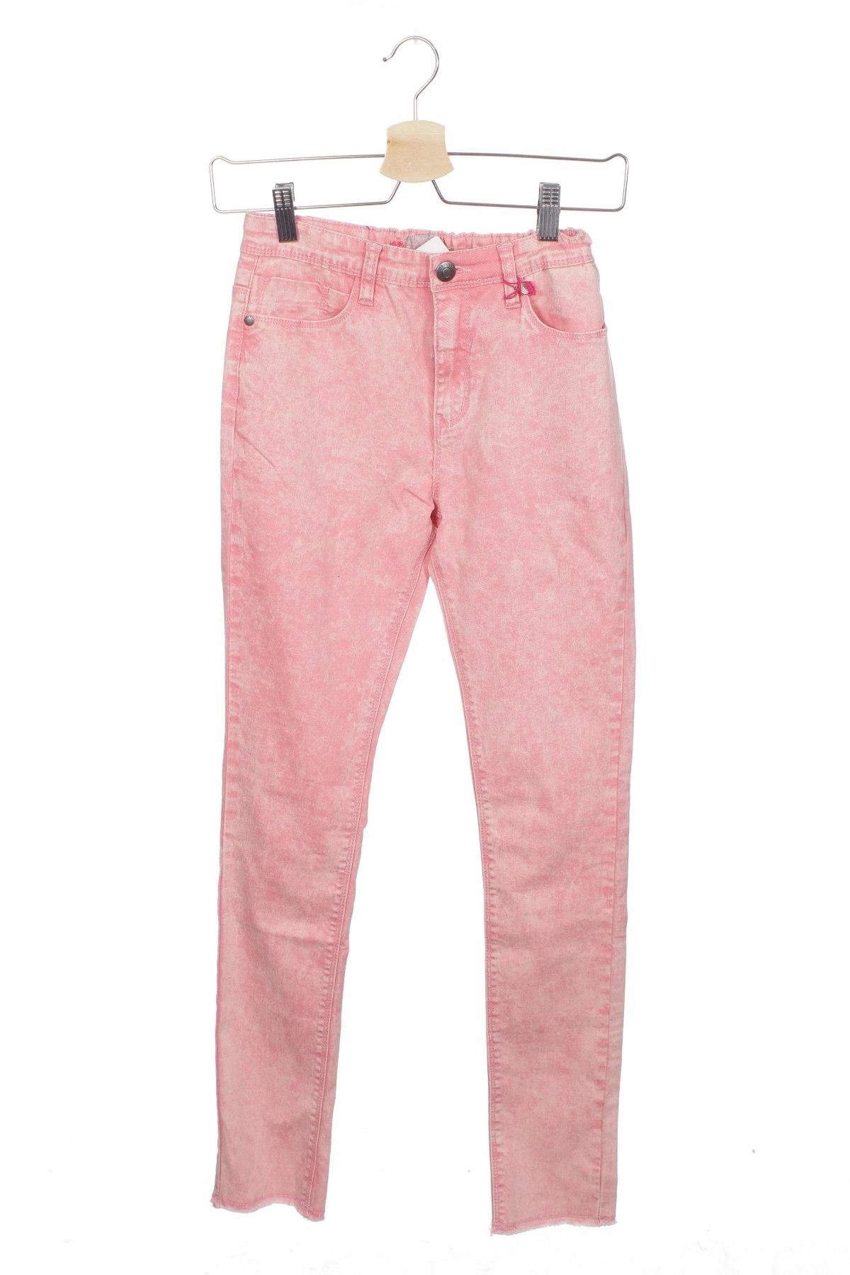 Детски панталон George Gina & Lucy, Размер 12-13y/ 158-164 см, Цвят Розов, 98% памук, 2% еластан, Цена 49,40лв.
