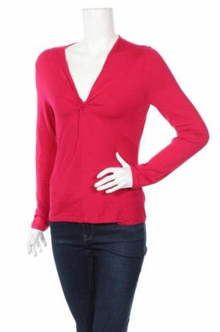 Дамска блуза Ann Taylor, Размер S, Цвят Розов, 95% вискоза, 5% еластан, Цена 17,25лв.