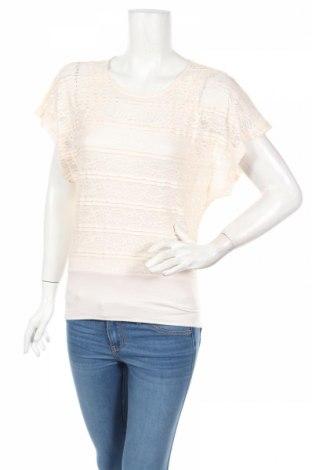 Дамска блуза Blind Date, Размер XS, Цвят Екрю, 95% полиестер, 5% еластан, Цена 5,11лв.