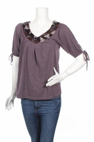 Γυναικεία μπλούζα Dkny Jeans, Μέγεθος M, Χρώμα Βιολετί, Τιμή 9,72€