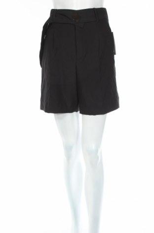 Дамски къс панталон Zara, Размер XS, Цвят Черен, 95% полиестер, 5% еластан, Цена 25,44лв.