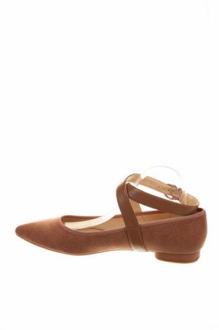 Дамски обувки Nine West, Размер 41, Цвят Пепел от рози, Текстил, еко кожа, Цена 17,70лв.