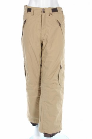 Дамски панталон за зимни спортове Ubz, Размер M, Цвят Кафяв, Полиамид, Цена 15,75лв.