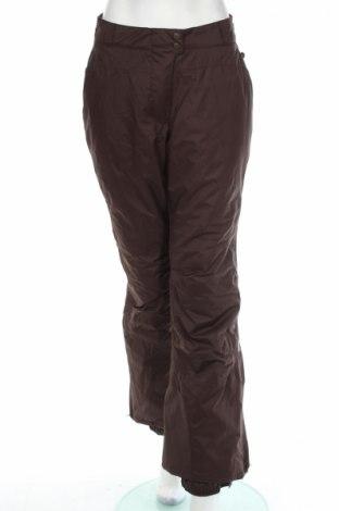 Дамски панталон за зимни спортове Alpine, Размер L, Цвят Кафяв, Полиестер, Цена 16,00лв.